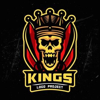 Логотип king skull esports