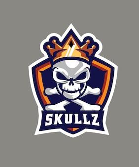 Логотип king skullz esports