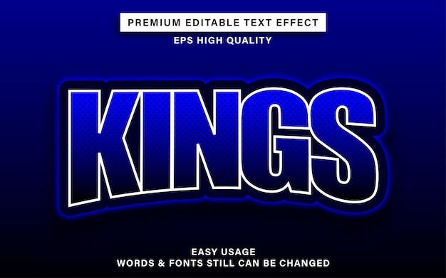 Kings esport текстовый эффект