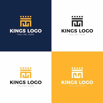 Набор логотипов kings
