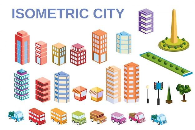Kit metropolis of skyscrapers