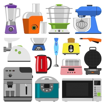 Kitchen appliances collection