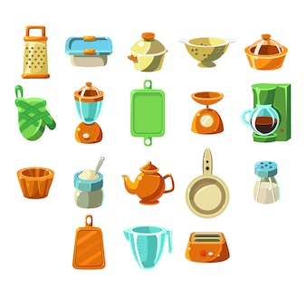 Kitchen appliences set
