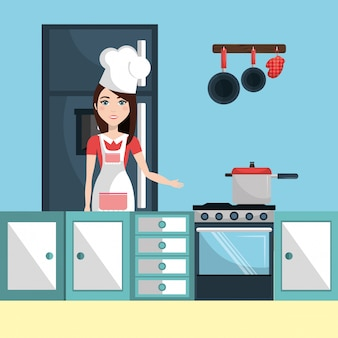 Kitchen and cooking