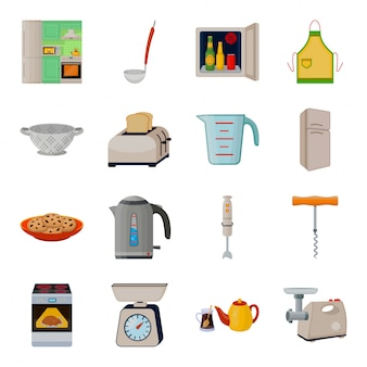キッチン機器の図