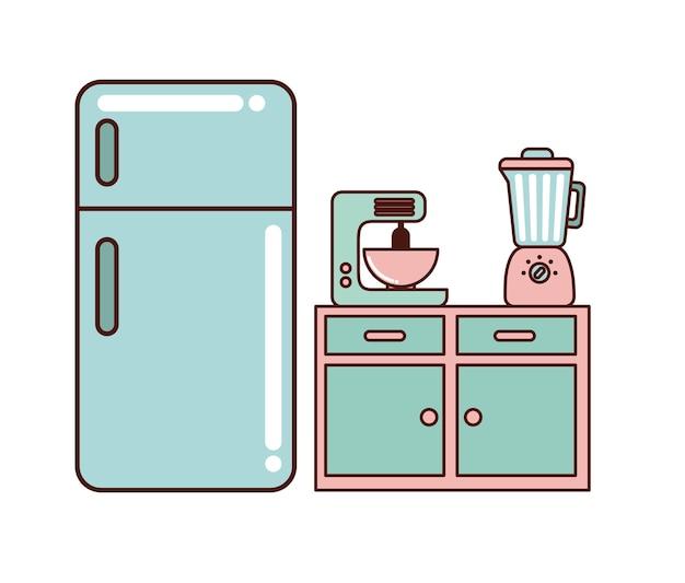 Kitchen home appliances