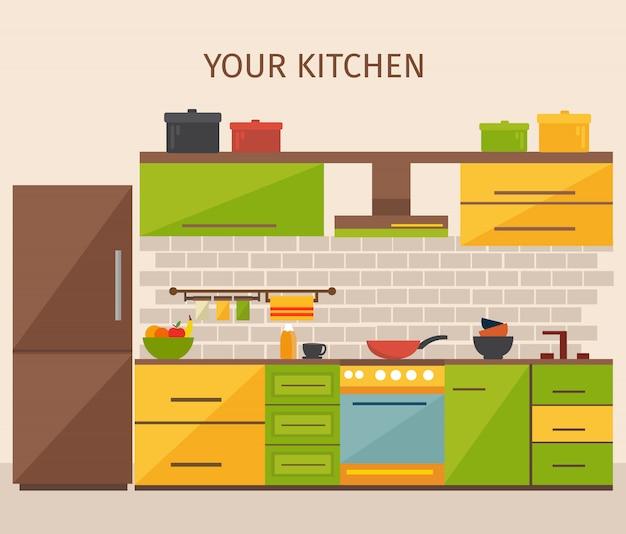 キッチンインテリアデザイン