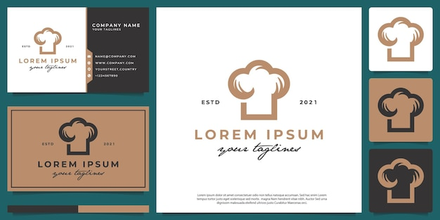 Kitchen logo, with modern classic style