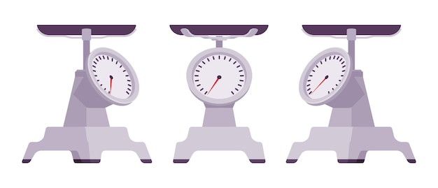 Кухонные металлические весы
