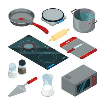 요리 주방 도구.