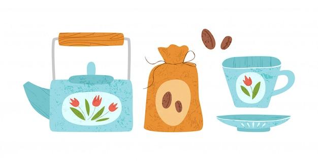 キッチン用品やキッチン用品のデザイン要素