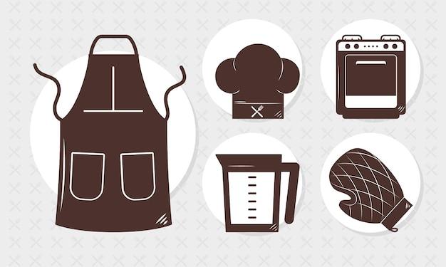 Набор кухонной утвари