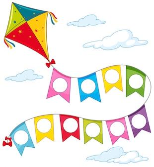 A kite on sky