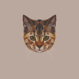Kitten low poly