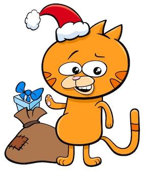 子猫、クリスマス、時間、漫画