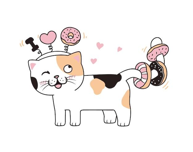 キティとデザート