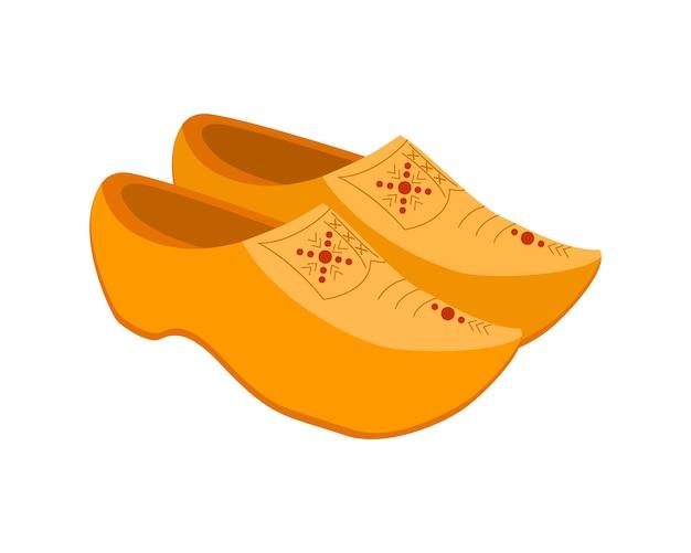 Klomp 네덜란드 전통 나무 신발 네덜란드산 나막신
