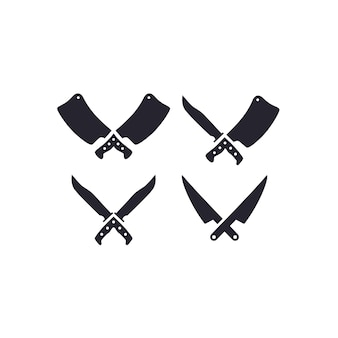 Knife and cleaver icon