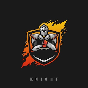 Knight concept illustration
