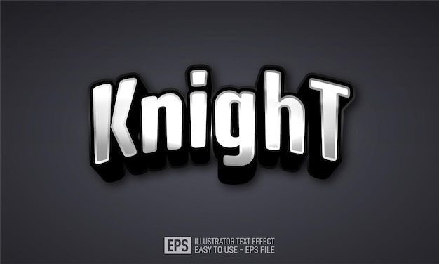 기사 esport 3d 텍스트 편집 가능한 스타일 효과 템플릿