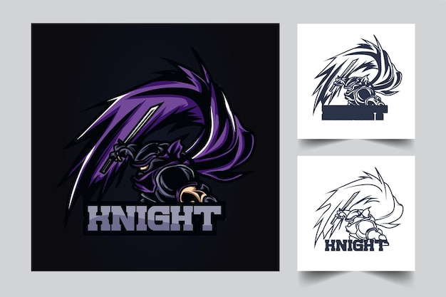 Knight esport artwork illustration