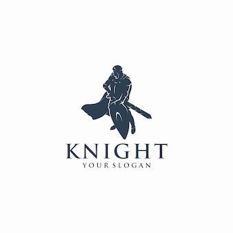 Логотип рыцаря, логотип воина, логотип гвардии, отсылка к логотипу