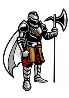 斧を持った騎士スタンド