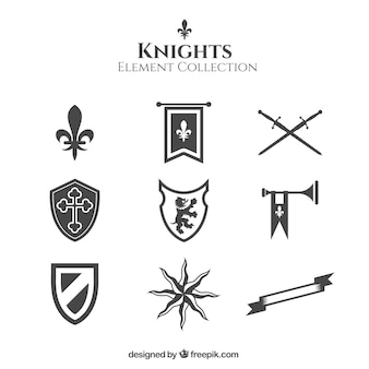 Knights elements with elegant style