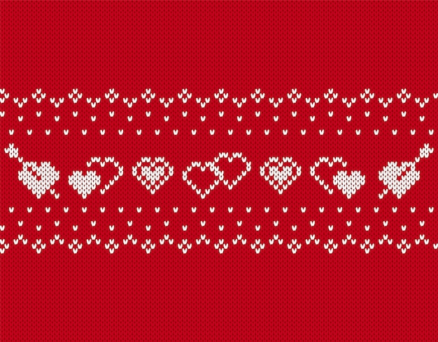Knit seamless pattern.