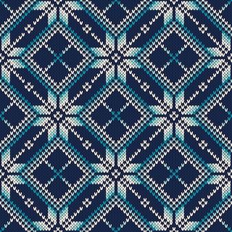 니트 스웨터 디자인. 원활한 뜨개질 패턴