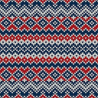 니트 스웨터 디자인. 원활한 패턴