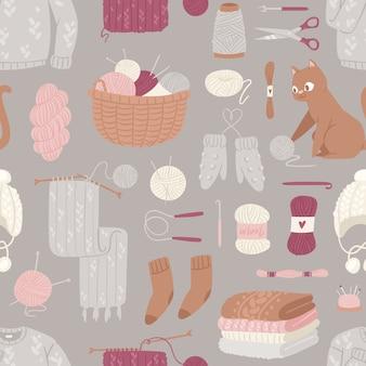 編み針パターン