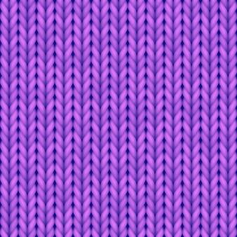 編み物のベクトルパターン