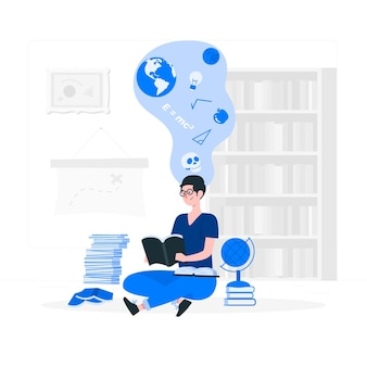 Knowledge concept illustration