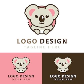 コアラのロゴデザイン