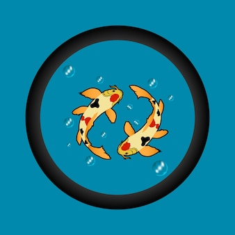 잉어 물고기 그림