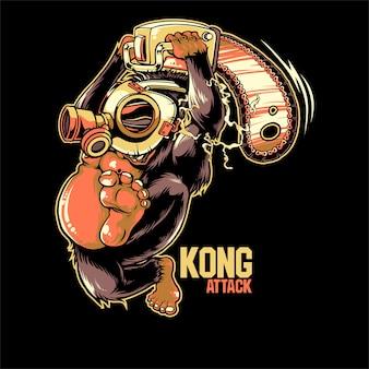 Kong attack
