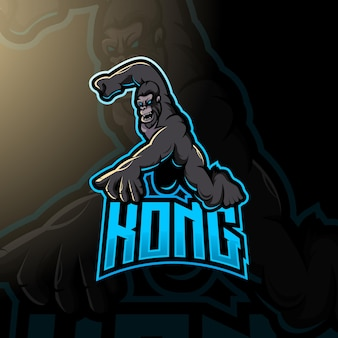 Kong logo for esport gaming or team