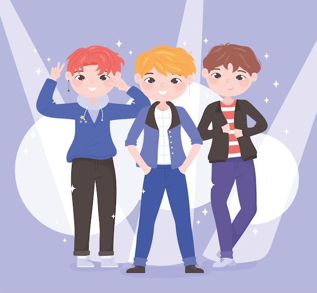 Korean kpop boys