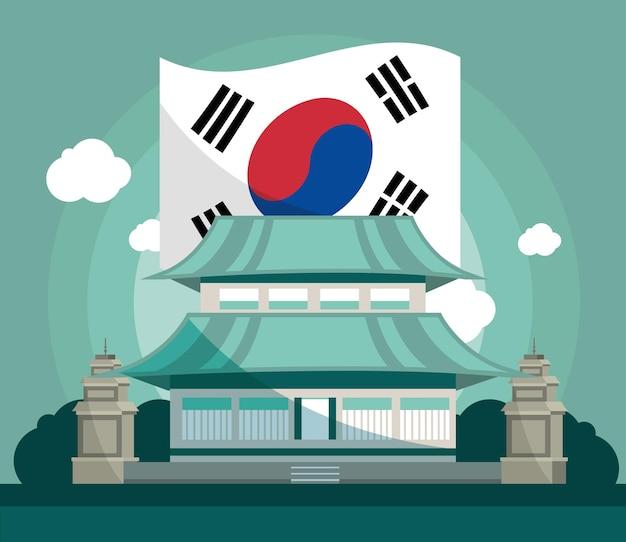 Korean presidential palace