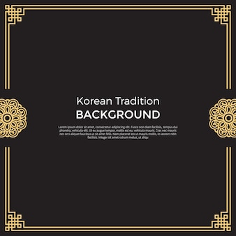 Korean traditional background