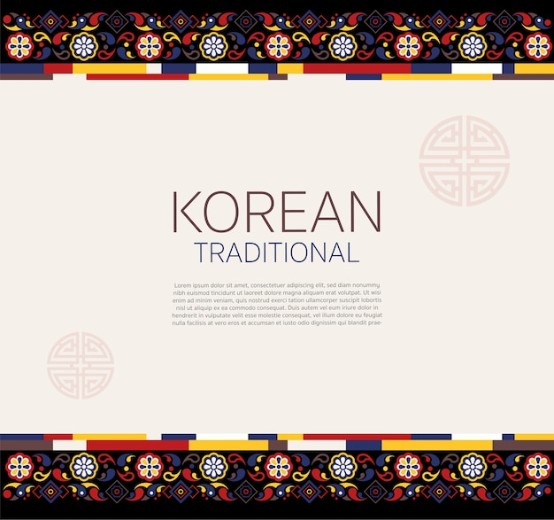 Korean traditional frame