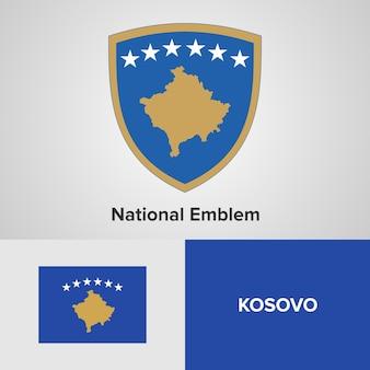 Национальный герб и флаг косово