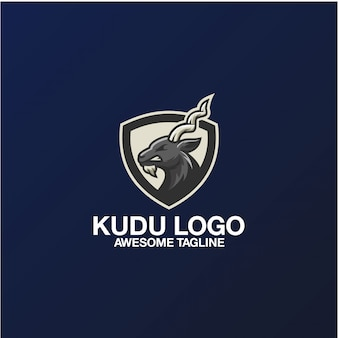 Kudu logo design awesomeインスピレーションインスピレーション