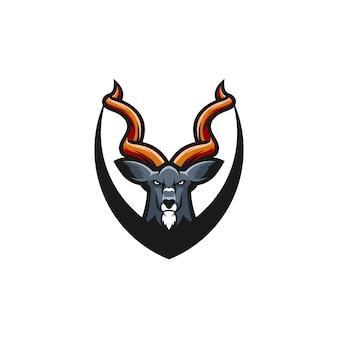 Kudu logo design