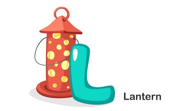 L for lantern
