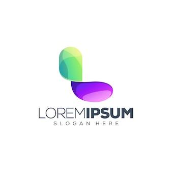 Шаблон письма l логотип
