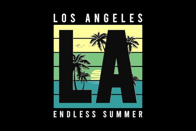 L's angels endless summer design silt retro style