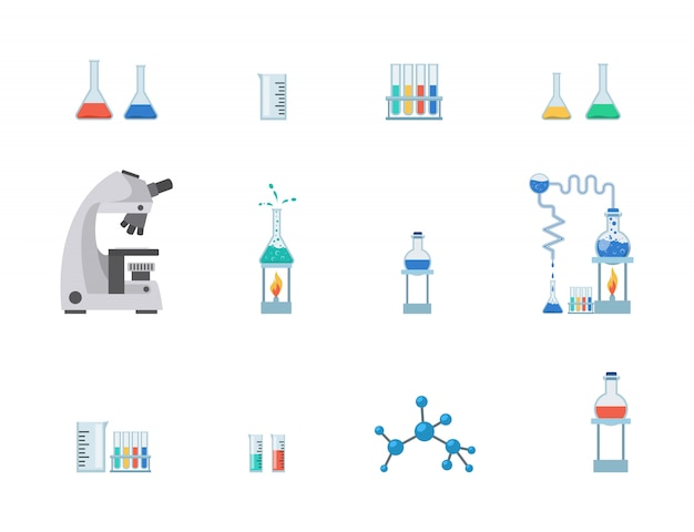 Lab equipment set