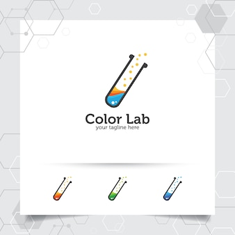 Lab or laboratory logo